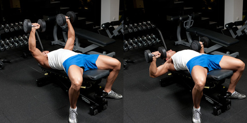 Show img decline dumbbell bench press