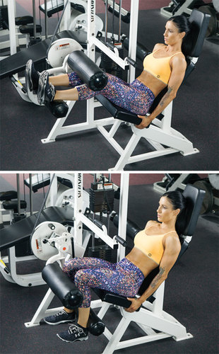 Show img seated leg curl