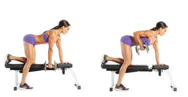 Image result for dumbbell one arm row