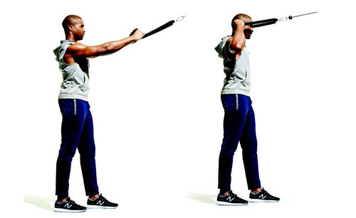 Show img cable face pull shoulder traps exercise 1