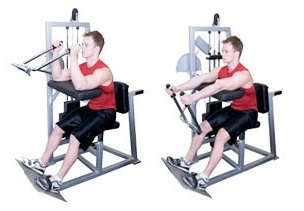 Show img machine triceps extension exercise guide 1 1 0