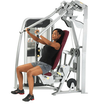 Show img 128 leverage incline chest press machine gym