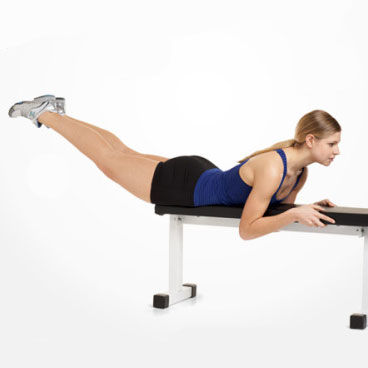 Show img 194 bench reverse hyperextension back exercise