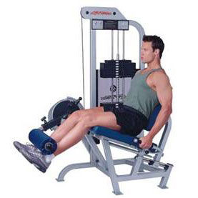 Show img 225 leg extensions machine
