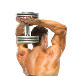 Workout plan: Dumbbell workout program to build muscle at